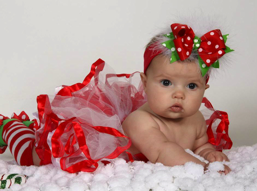 Christmas Headband For Baby Girl.Baby Couture India Baby Headbands Baby Tutu Dresses